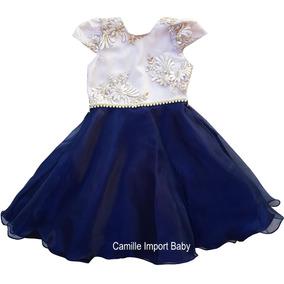 Vestido Festa Infantil Princesa Formatura Daminha