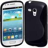 Protector Samsung Galaxy S Iii Mini Cimo Negro.