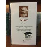 Gredos Marx Colección Grandes Pensadores Envio Gratis