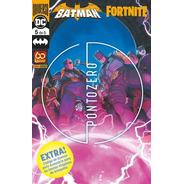 Hq Batman/fortnite Ponto Zero Vol 5 Lançamento 2021 Lacrado