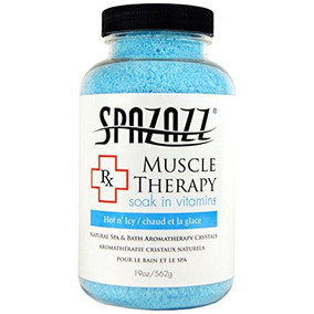 Spazazz Spz-601 Rx Therapy Crystals Container Bath Minerals,