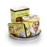 Conjunto De Latas Potes Cozinha Kellogs - Vintage - Retrô