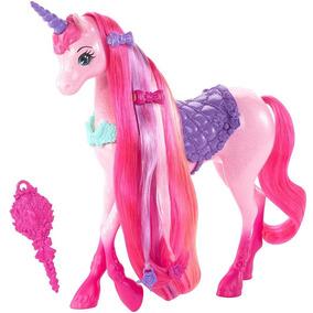Barbie Reino De Peinados Magicos Unicornio