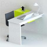 Escritorio Mueble Minimalista Moderno Repisa Oficina Laptop
