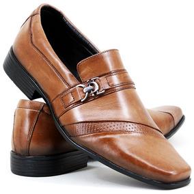 Sapato Masculino Social Couro Legitimo Presente Dia Dos Pais