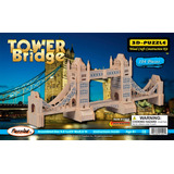 Rompecabezas 3d De Madera Torre Del Puente 104 Piezas