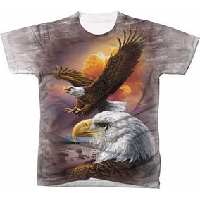 Camisa Camiseta Blusa 3d Águia Eagle Usa Estados Unidos 05