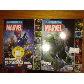 Enciclopedia Marvel N 5 6 7 9 Guardians Of Galaxy Y Hulk C/u