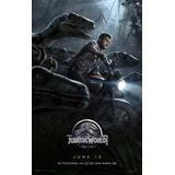 Poster Cartaz Jurassic Park World - Mundo Dos Dinossauros #4