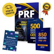 Kit Completo Prf - Apostila + Livros De Questões Prf