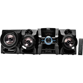 Mini System 1000w Philco Cd/dvd/fm/aux/usb/karaoke Ph1100