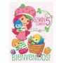 Partybox Candybar Frutillita Deco Cumples Dibujitos Invita