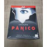 Blu-ray Pânico: Coleção (4 Discos)(dublado Original Lacrado)