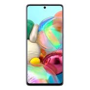 Celular Samsung Galaxy A71 128gb Color Silver 6gb Ram Libre