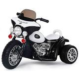 Moto Trimoto Triciclo A Bateria Policia 6v Luces 2 A 4 Años