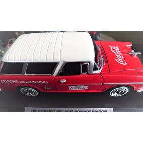 Chevy Bel Air Nomand Wagon Cocacola Mod 1955 Esc 1 24