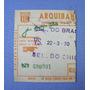 Ingresso Jogo Brasil X Chile 1970 - Futebol Amistoso