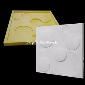 Forma De Silicone Pra Gesso 3d 30x30 Lua Bolhas Mini Bologna