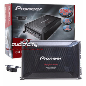 Amplificador 5 Canales Clase D Pioneer Gm-d9605 2000 Watts
