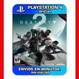 Destiny 2 Ps4 :: Digital :: Envios En Solo Minutos