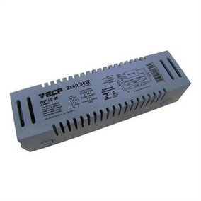 1x Reator Eletronico Lampada Fluorescente 2x 36w 40w Bivolt