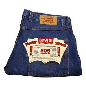 Jeans Levis Clasicos Rectos - 505 Strauss & Co