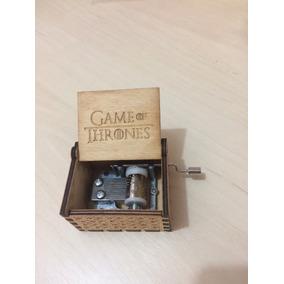 Caixinha De Música Game Of Thrones Abertura Pronta Entrega