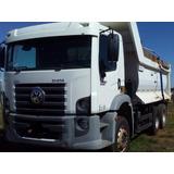 Caminhão Basculante Traçado Vw 31320 Costellation Ano 2011