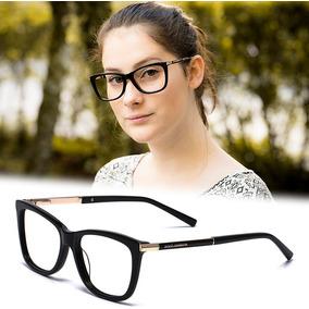 Armação Oculos Grau Feminino Importado Dg60 Acetato Original