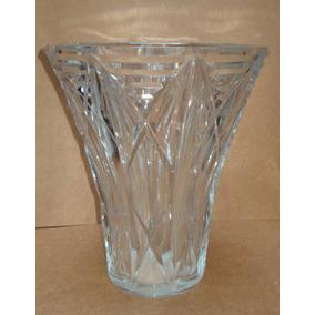 Baccarat Vaso Em Cristal Lapidado Década De 1950 França