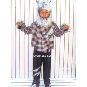 Disfraz Niño Hombre Lobo Tallas 4/8 Años Halloween