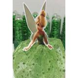 30 Tinker Bell - Sininho Bustos Para Tubetes 7,5cm N