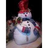 Muñecos De Navidad (nieve) Manta Polar