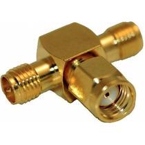 Divisor (splitter) O Adaptador Para 2 Antenas Wifi Rp-sma