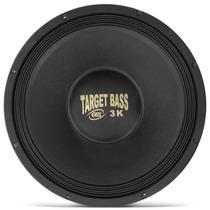 Alto Falante Woofer Eros 15 Target Bass 3.0k 1500w Rms 4ohms