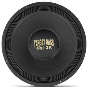 Alto Falante Woofer Eros 15 Target Bass 3.0k 1500w 4 Ohms