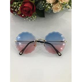 Oculos Redondo Lente Rosa De Sol Distrito Federal - Óculos De Sol no ... 2db2a3349a