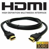 Cables Originales Hdmi, Punta Gold Alta Definición 1,8mts