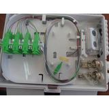 Caja Para Fibra Óptica 16 Puertos