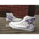 Converse Pintados A Mano Justin Bieber Never Say Never