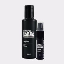 Kit Para Barba Comprida - Shampoo + Óleo - Usebarba - Aks