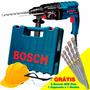 Martelete Sds Plus 800w Gbh 2-24 D C/ 5 Brocas Bosch 220v