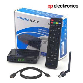 Freesat V7 Fta Hd Con Wifi - No Openbox Z5, Iks, Azul, 77w