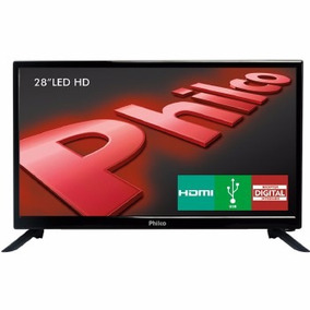 Tv 28 Polegadas Philco Led Hd 1hdmi 1usb Vga Ph28d27d