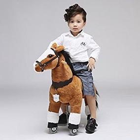 Caballo Pony Montable De Ruedas Caballito Camina Edad 3-5