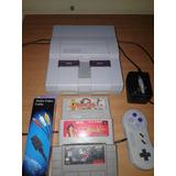 Super Nintendo Con Juegos Snes