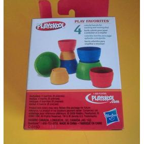 Playskool Juguete Barriles Apilables Aprendizaje