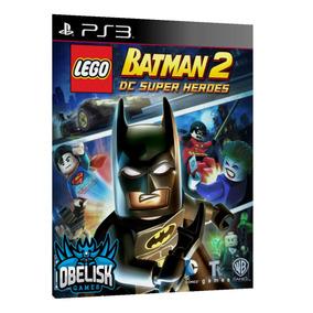 Lego Batman 2 Dc Super Heroes Ps3 Jogo Digital Psn Download