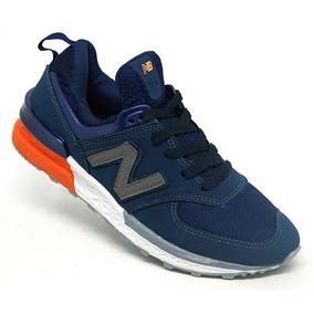 Tênis New Balance 574 Azul Marinho Original