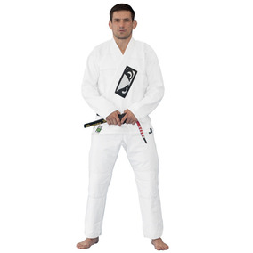 Kimono Jiu Jitsu First Gi Bad Boy - Branco